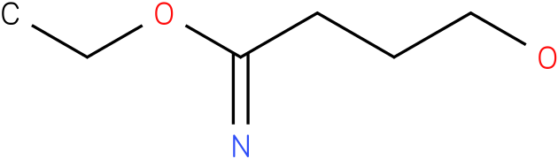 4-hydroxy-butyrimidic acid ethyl ester