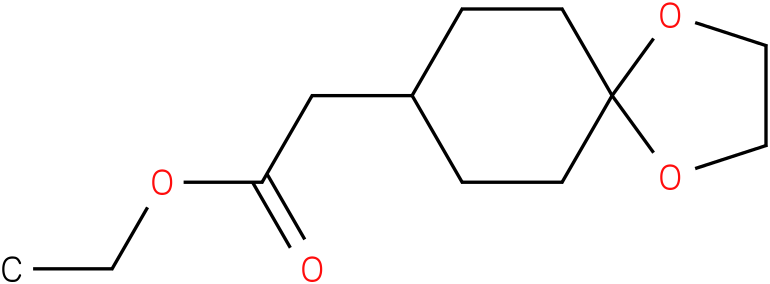 (1,4-DIOXA-SPIRO[4.5]DEC-8-YL)-ACETIC ACID ETHYL ESTER