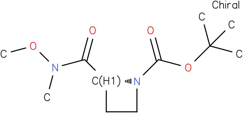 (R)-tert-butyl 2-(methoxy(methyl)carbamoyl)azetidine-1-carboxylate