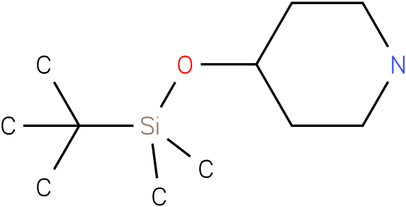 4-(tert-butyldimethylsilyloxy)piperidine