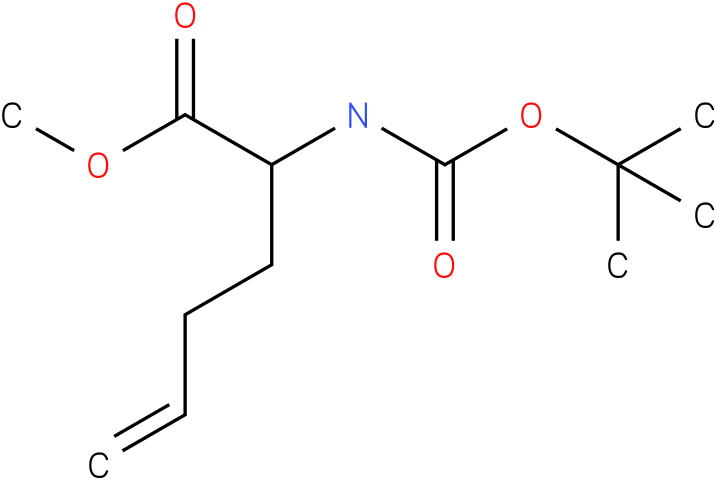 methyl 2-(tert-butoxycarbonylamino)hex-5-enoate