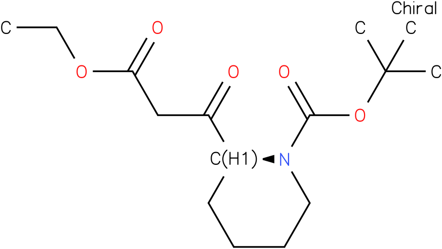 (2S)-1-BOC-BETA-OXO-2-PIPERIDINEPROPANOIC ACID ETHYL ESTER
