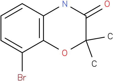 8-BROMO-2,2-DIMETHYL-4H-BENZO[1,4]OXAZIN-3-ONE