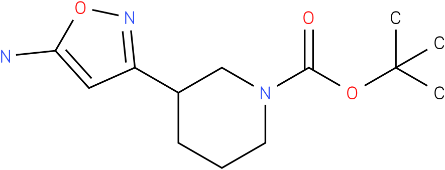 3-(5-amino-1h-isoxazol-3-yl)-piperidine-1-carboxylic acid tert-butyl ester