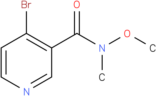 4-bromo-N-methoxy-N-methylnicotinamide