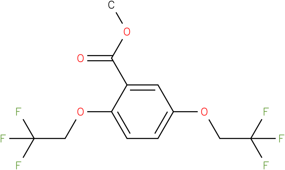 METHYL 2,5-BIS(2,2,2-TRIFLUOROETHOXY)BENZOATE