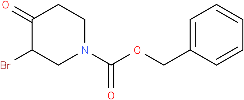 benzyl 3-bromo-4-oxopiperidine-1-carboxylate