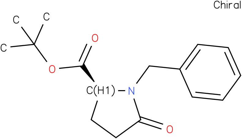 (S)-tert-butyl 1-benzyl-5-oxopyrrolidine-2-carboxylate
