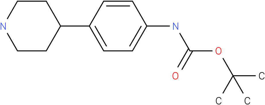 (4-piperidin-4-yl-phenyl)-carbamic acid tert-butyl ester