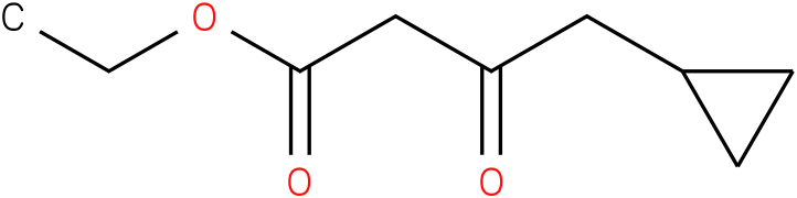 4-cyclopropyl-3-oxo-butyric acid ethyl ester