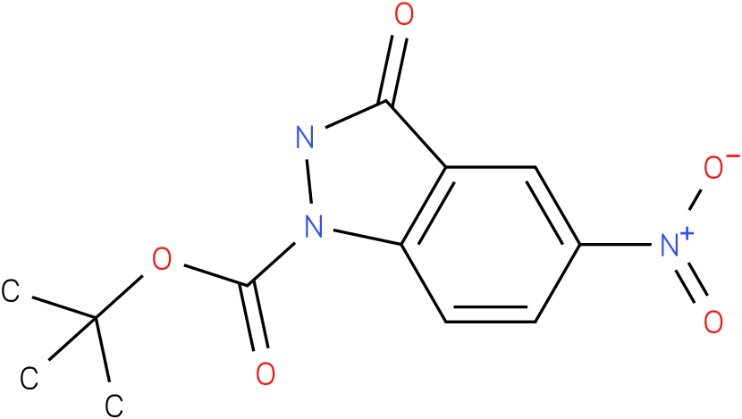 tert-butyl 5-nitro-3-oxo-2,3-dihydro-1H-indazole-1-carboxylate