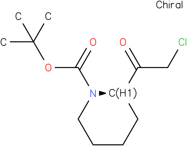 (R)-tert-butyl 2-(2-chloroacetyl)piperidine-1-carboxylate