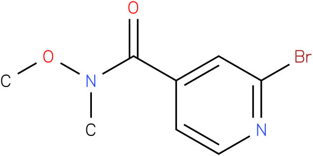 2-bromo-N-methoxy-N-methylisonicotinamide