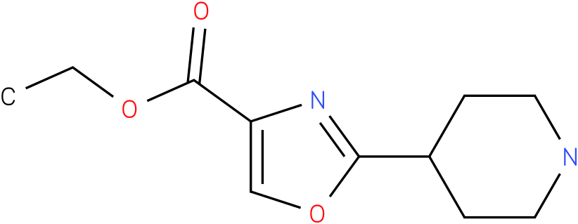 2-Piperidin-4-yl-oxazole-4-carboxylic acid ethyl ester