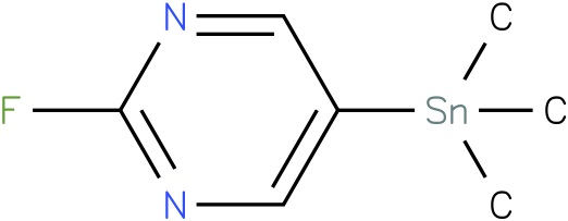 2-fluoro-5-(trimethylstannyl)pyrimidine