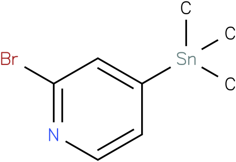 2-bromo-4-(trimethylstannyl)pyridine
