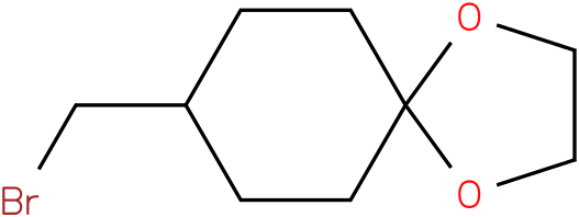 8-(bromomethyl)-1,4-dioxaspiro[4.5]decane