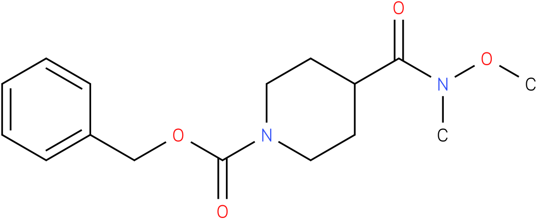 BENZYL 4-(N-METHOXY-N-METHYLCARBAMOYL)PIPERIDINE-1-CARBOXYLATE