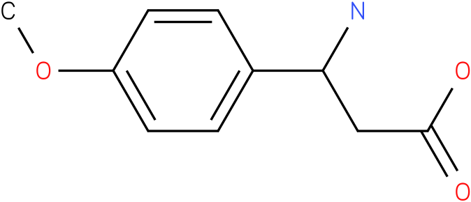 3-Amino-3-(4-methoxyphenyl)propionic acid