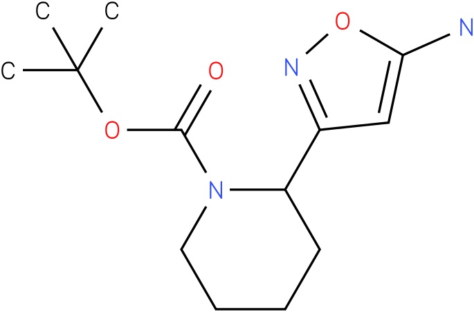 2-(5-amino-1h-isoxazol-3-yl)-piperidine-1-carboxylic acid tert-butyl ester