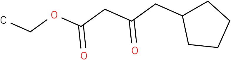 4-cyclopentyl-3-oxo-butyric acid ethyl ester