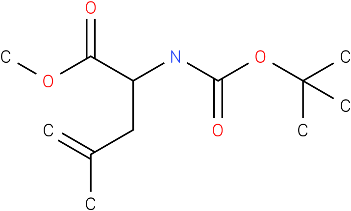 methyl 2-(tert-butoxycarbonylamino)-4-methylpent-4-enoate