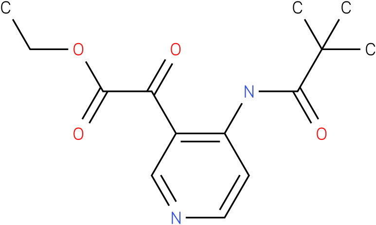 [4-(2,2-DIMETHYL-PROPIONYLAMINO)-PYRIDIN-3-YL]-OXO-ACETIC ACID ETHYL ESTER