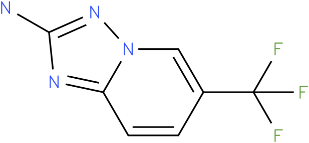 6-(trifluoromethyl)-[1,2,4]triazolo[1,5-a]pyridin-2-amine