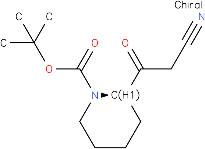 (R)-tert-butyl 2-(2-cyanoacetyl)piperidine-1-carboxylate