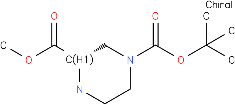 (S)-4-N-Boc-piperazine-2-carboxylic acid methyl ester