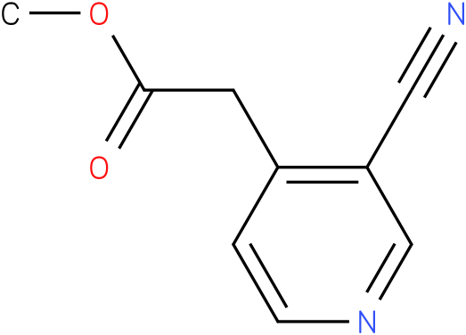 methyl 2-(3-cyanopyridin-4-yl)acetate