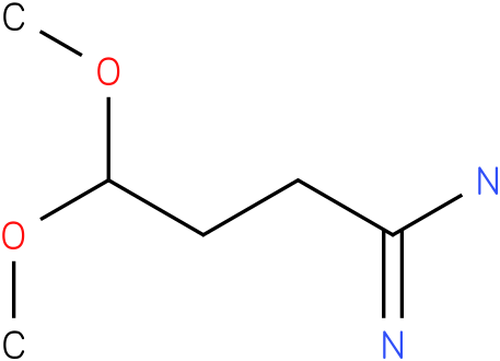 4,4-dimethoxybutanamidine