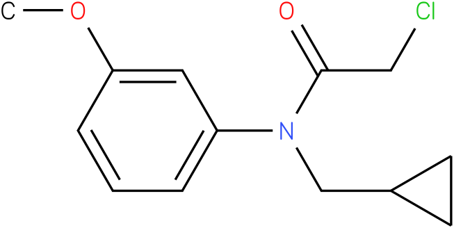 2-chloro-N-(cyclopropylmethyl)-N-(3-methoxyphenyl)-acetamide