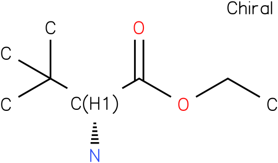 (R)-ethyl 2-amino-3,3-dimethylbutanoate