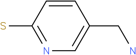 5-(aminomethyl)pyridine-2-thiol