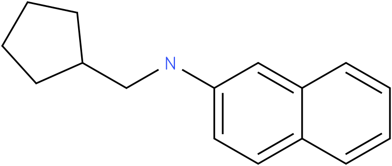 N-(cyclopentylmethyl)naphthalen-2amine