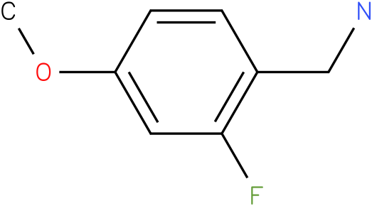 (2-fluoro-4-methoxyphenyl)methanamine (HCl salt)