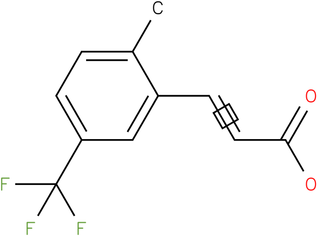 (E)-3-(5-(trifluoromethyl)-2-methylphenyl)acrylic acid