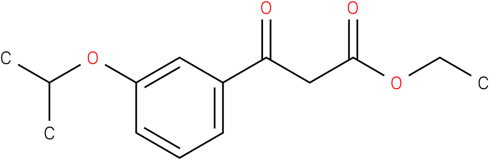 ethyl (3-isopropoxybenzoyl)acetate