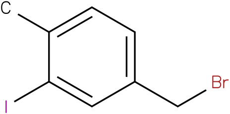 4-(bromomethyl)-2-iodo-1-methylbenzene