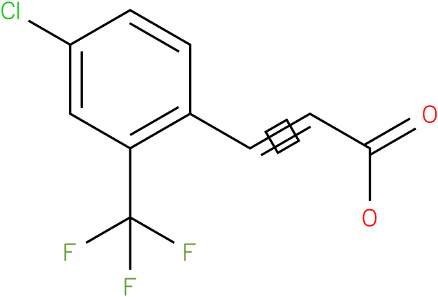 4-chloro-2-trifluoromethyl)cinnamic acid