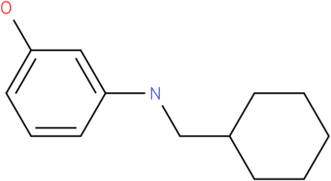 3-(cyclohexylmethylamino)phenol