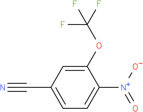 4-nitro-3-(trifluoromethoxy)benzonitrile