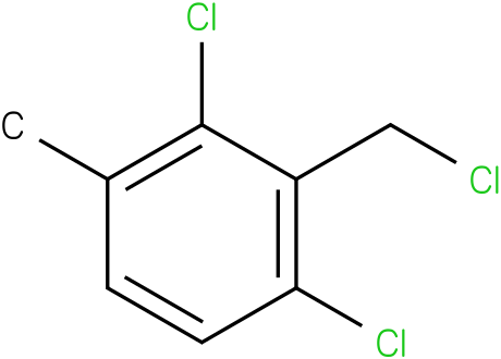 1,3-dichloro-2-(chloromethyl)-4-methylbenzene