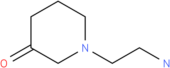 1-(2-aminoethyl)piperidin-3-one