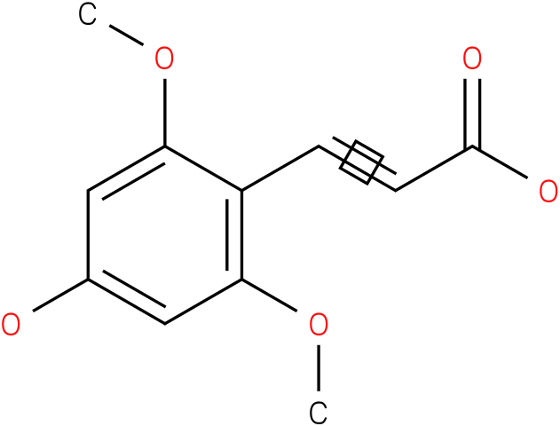 2,6-dimethoxy-4-hydroxycinnamic acid