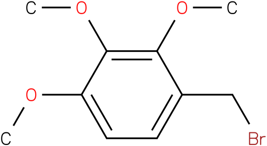 1-(bromomethyl)-2,3,4-trimethoxybenzene