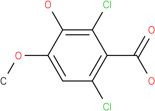 2,6-dichloro-3-hydroxy-4-methoxybenzoic acid