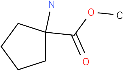 methyl 1-aminocyclopentanecarboxylate