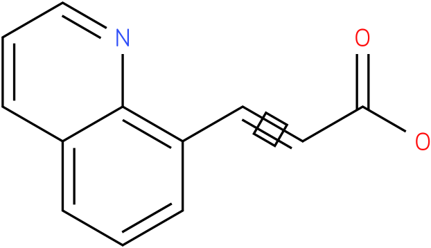 (2E)-3-quinolin-8-ylacrylic acid